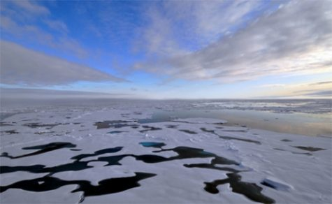 Massive Ice Melt in the Arctic