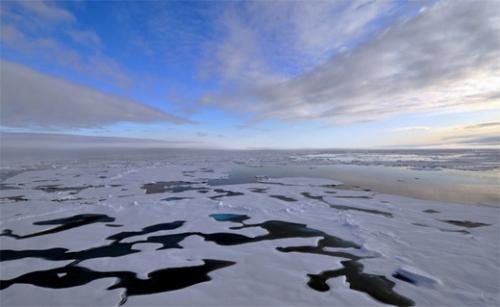 Massive Ice Melt in the Arctic