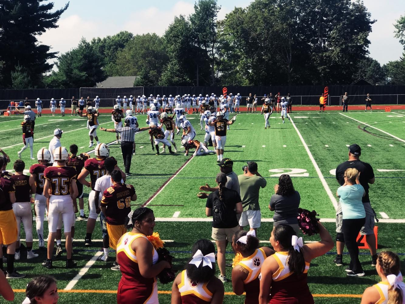South Windsor defeats rival Glastonbury in home opener game