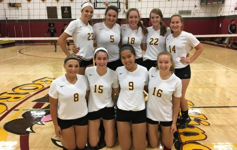 Varsity Girls Volleyball Takes Victory Over Manchester
