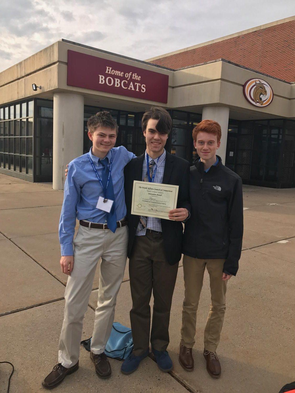 Delegation won Innovation Award