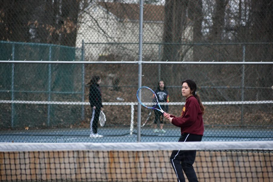 Undefeated Girls' Tennis Back For Another Season