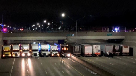Truckers and Officers Come Together to Stop Suicide