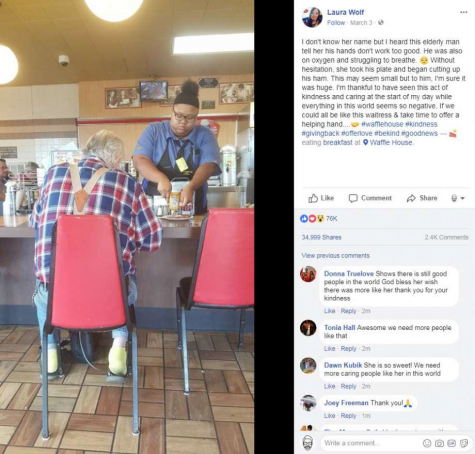 Waitress wins a $16,000 scholarship for being kind!