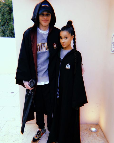 First picture posted on social media of Pete Davidson and Ariana Grande  Source: Instagram