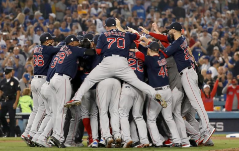 The Red Sox Win The 2018 World Series