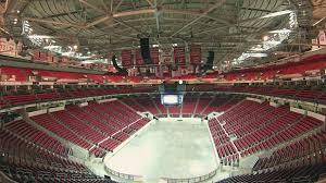 View from inside the PNC Arena