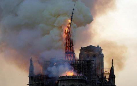 La Cathédrale Notre Dame de Paris Catches Fire on April 15th, 2019