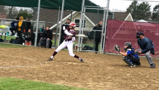 Bridget+Doherty+takes+a+swing+during+the+6th+inning
