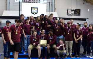 SWHS Robotics Team Wins CT State Robotics Championship