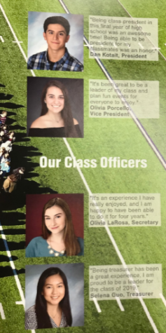 2019 Senior Class Officers