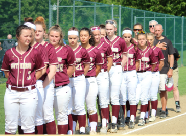 Varsity Softball Loses in Quarter Finals of States