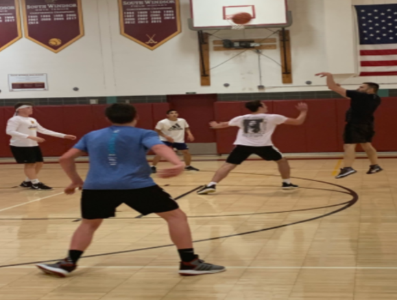 Students Gather For 3 V 3 Basketball Tournament For Hurricane Relief