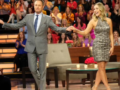"Clare Crowley was introduced to the Bachelor nation at ""After the Final Rose."" Source: Insider"