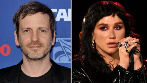 Dr. Luke (left), Kesha (right)