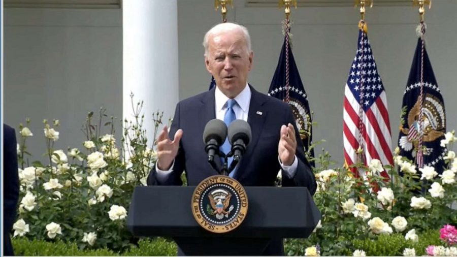 Biden+Celebrates+New+CDC+Announcement+Regarding+The+End+of+Masks+For+the+Fully+Vaccinated.+Is+it+too+Soon%3F