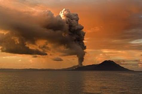 Hawaiian Volcano Eruption